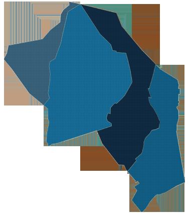 Kaart van de Ruimingswerken in Hamont-Achel