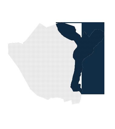 Kaart van de Ruimingswerken in Neerpelt